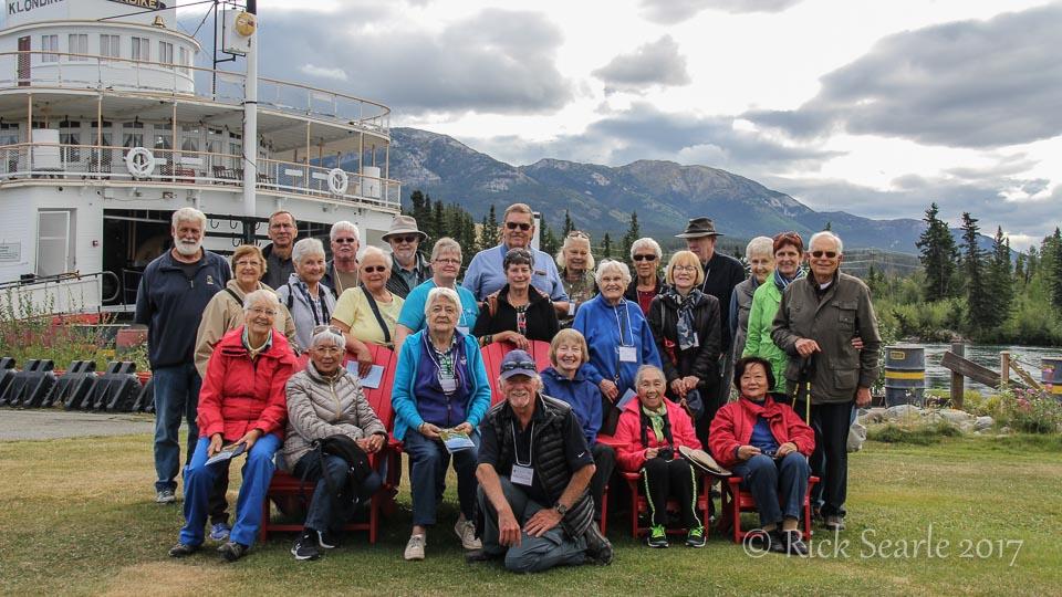 Group at SS Klondike