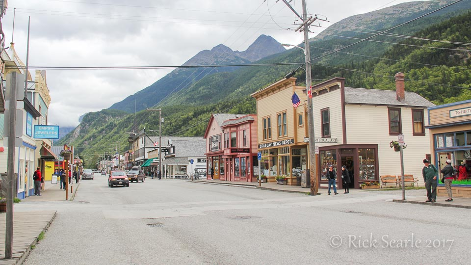 Main St. Skagway, Alaska