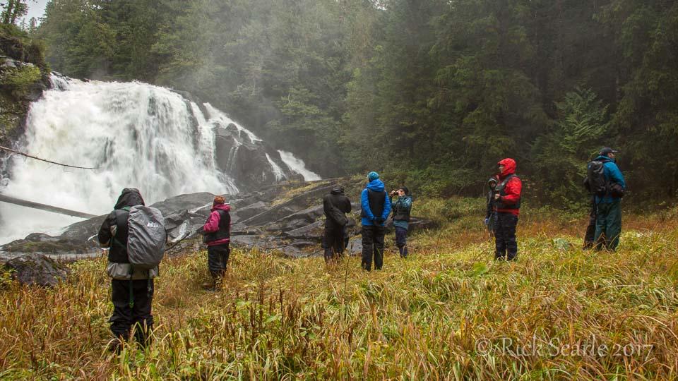Waterfalls visit