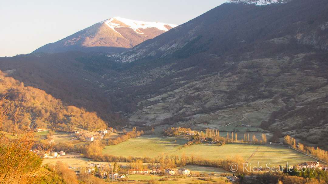 Early Morning in Abruzzo Valley