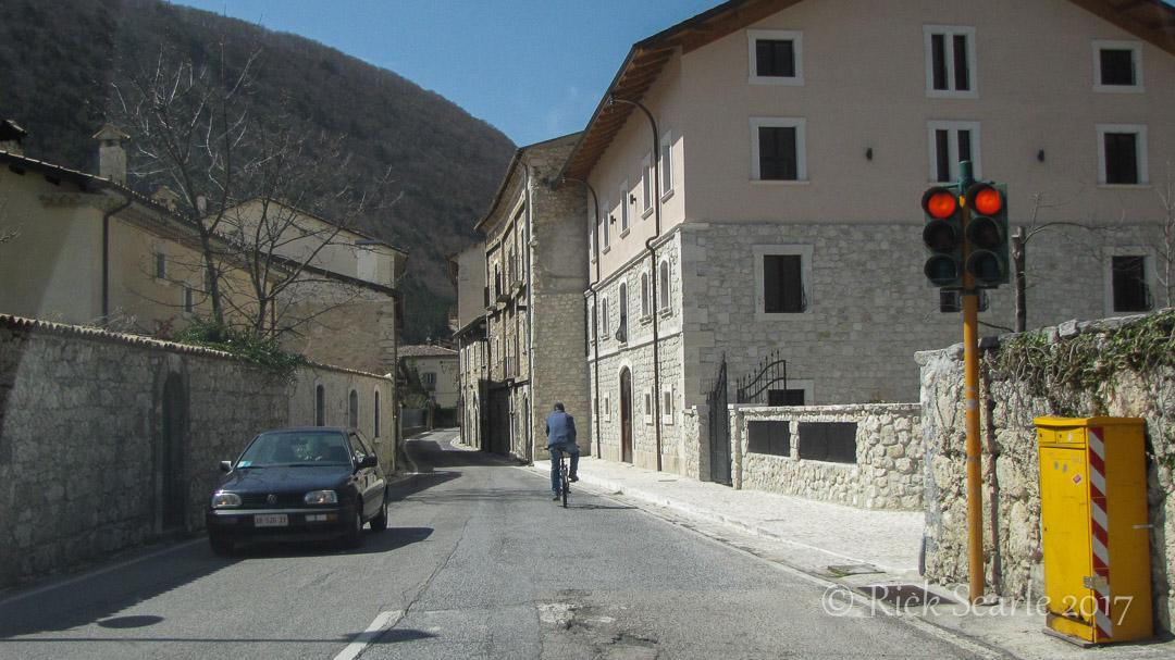 Entering Villetta Barrae