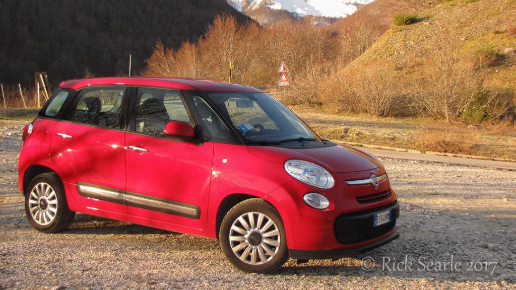 Fiat 500L Rental Car