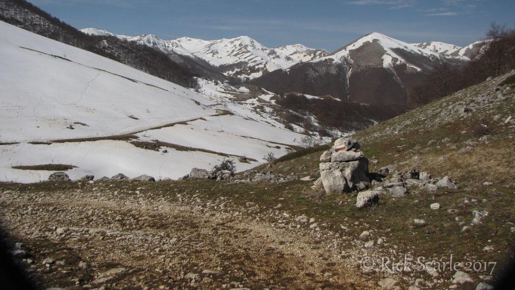 Hiking Trail in Abruzzo NP