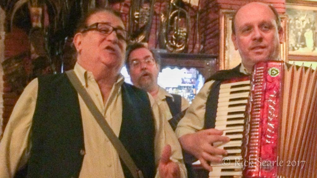 Singing Waiters, Rome, Italy