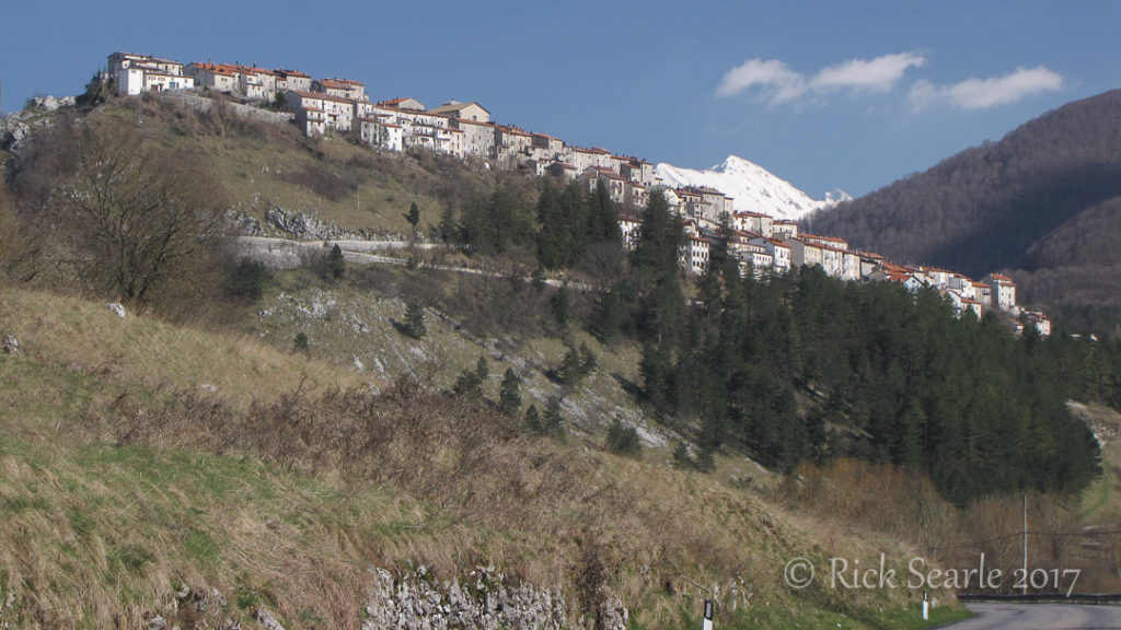 Village of Opi in Abruzzo NP