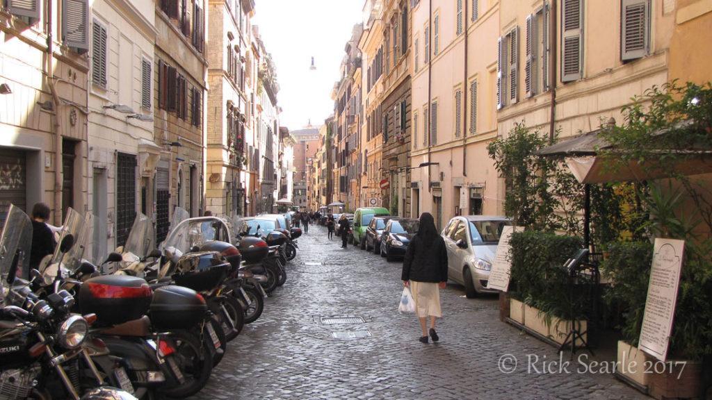 Rome Backstreet Scene