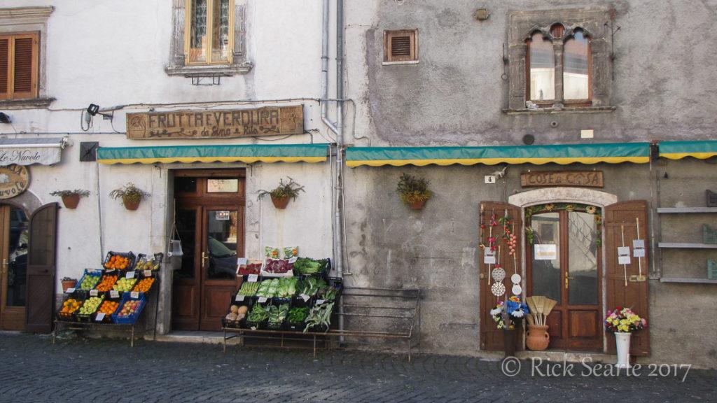 Shops in Pescasseroli