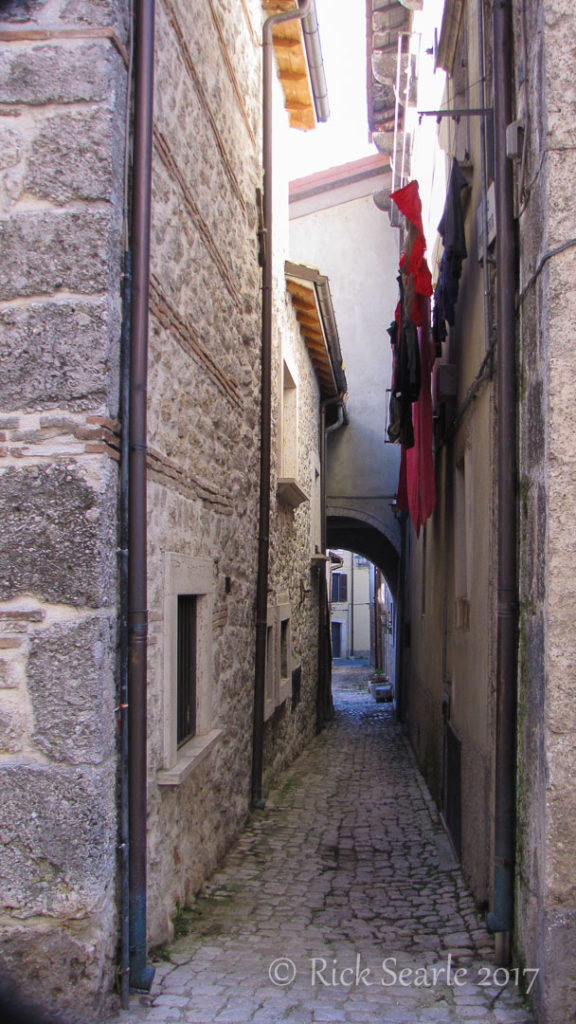 Sidestreet in Pescasseroli