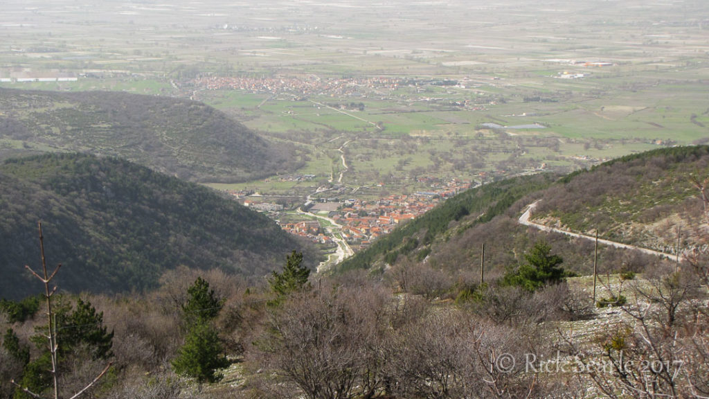 Villa Santa Maria just outside of Abruzzo NP