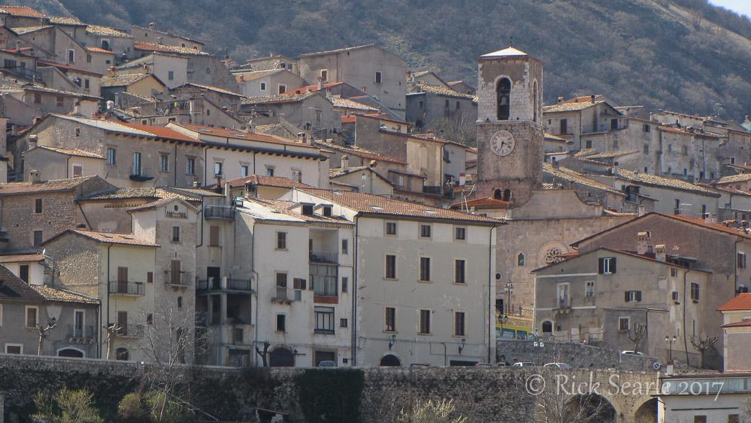 Village in Abruzzo National Park