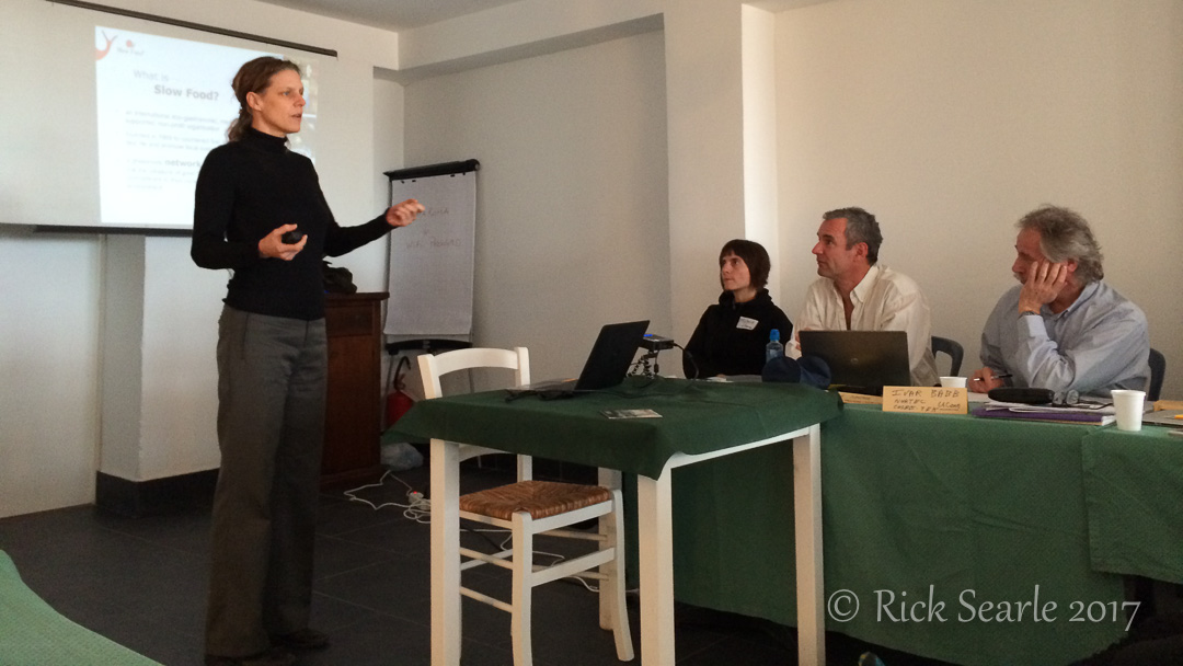 Presenters at EU Ocean Literacy Workshop