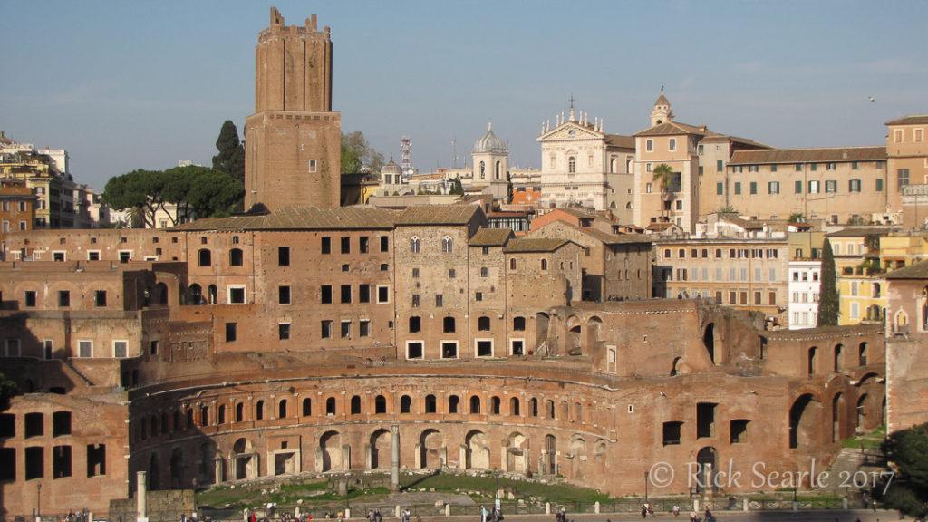 View of Rome from Altare della Patria