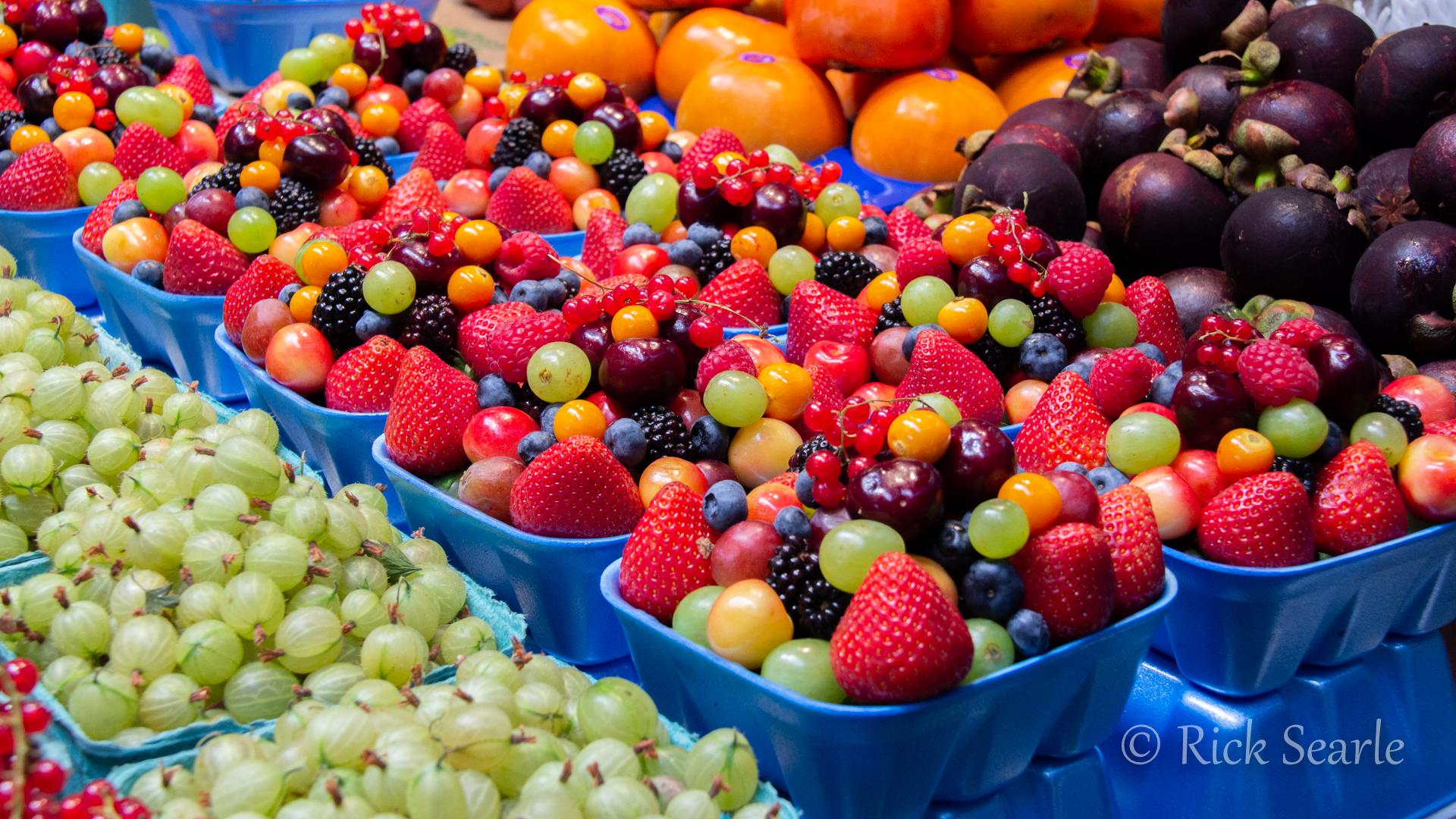 Fruit at Granville Market
