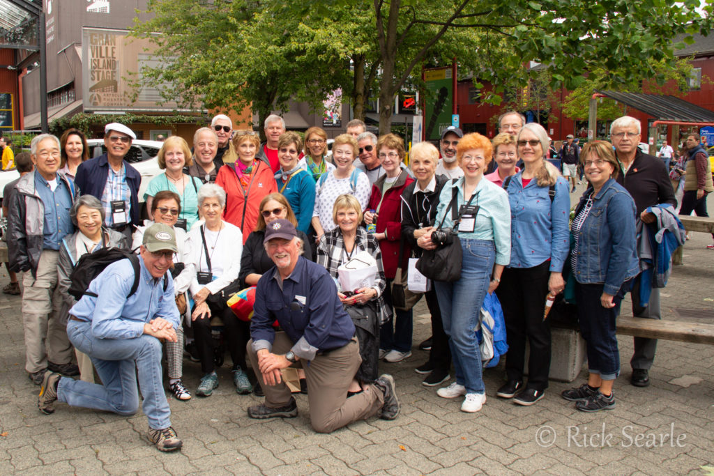 Granville Island Group Photo
