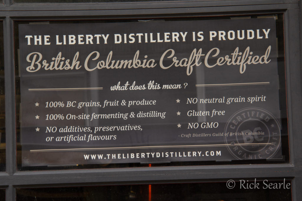 Granville Island Liberty Distillery