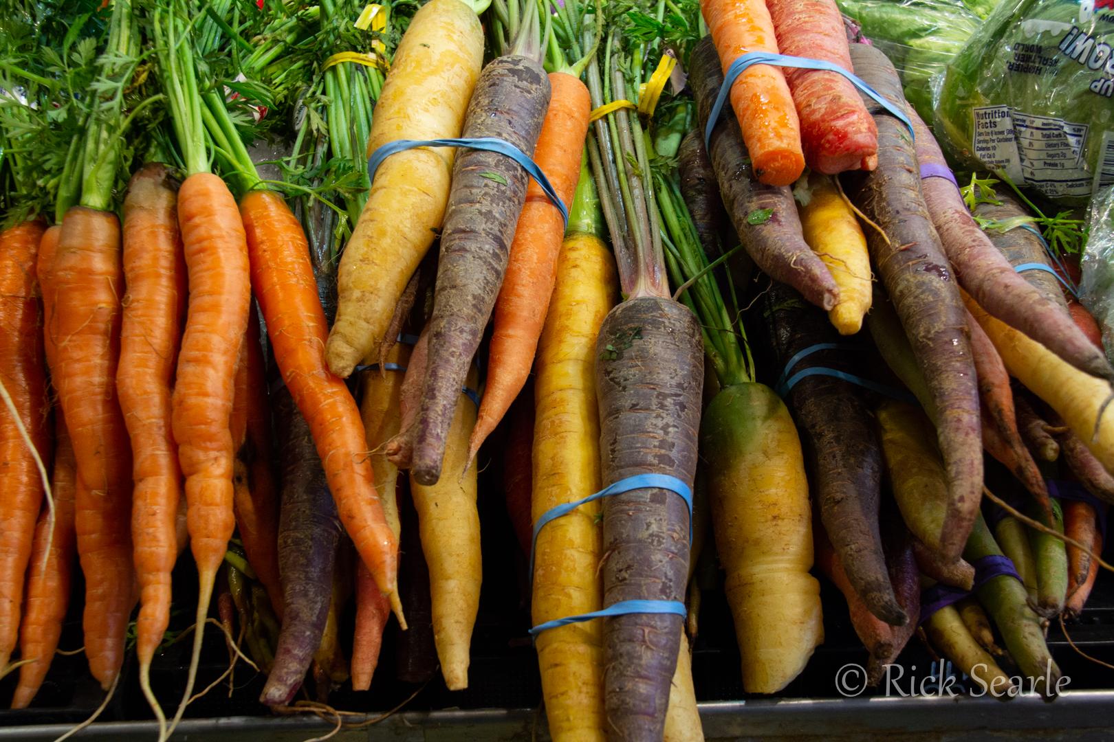 Granville Island Market Carrots