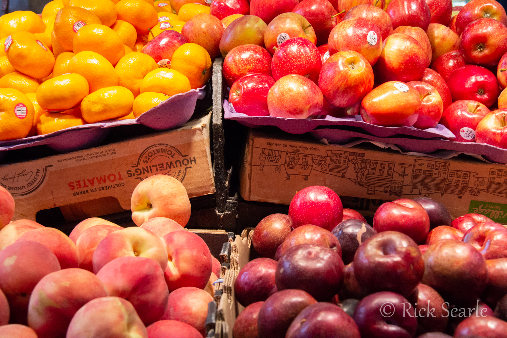 Granville Island Market Fruit