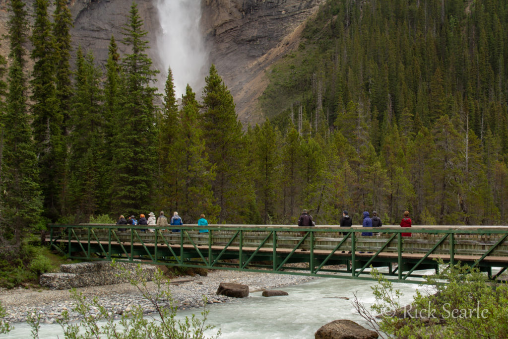 Group at Takakkaw Falls