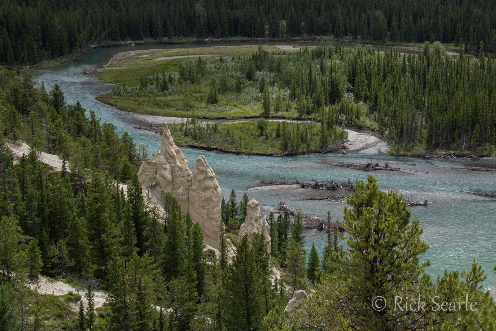 hoodoos & Bow River