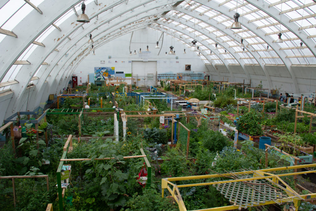 Community Greenhouse in Inuvik