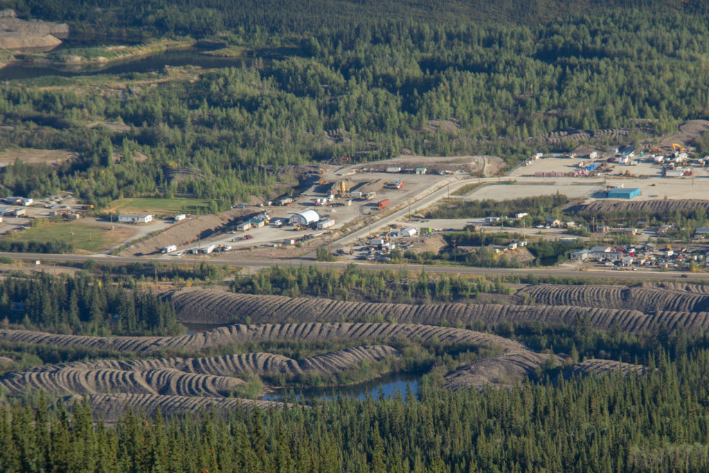 Dredge Tailings Dawson City