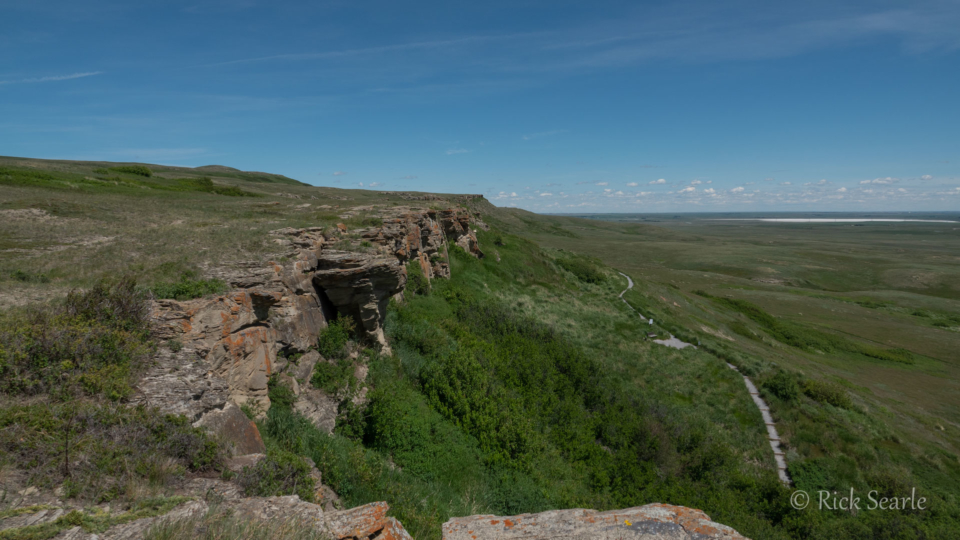 Cliffs of Head-Smashed-In Buffalo Jump