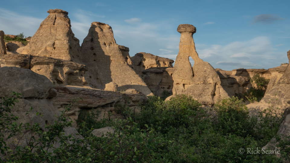 Hoodoos of Writing-On-Stone Provincial Park