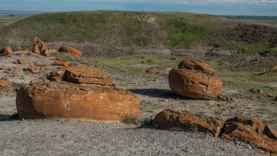 Formations in Red Rock Coulee