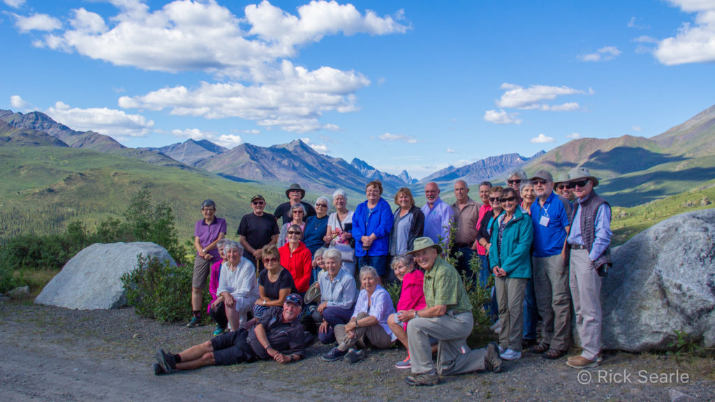 Group in the Tombstone Territorial Park