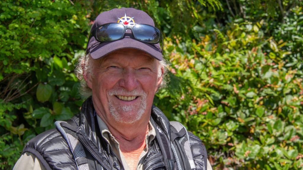 Rick at Pacific Rim NP